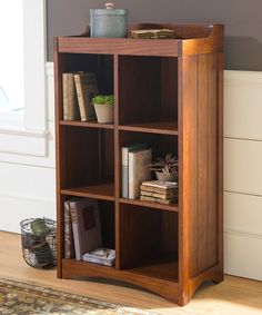 Look what I found on #zulily! Mission Bookcase Cubby #zulilyfinds