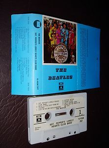 The Beatles cassette tape.