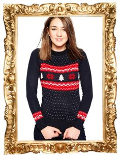Snowflake & Christmas Tree Jumper - $25 $36 (was $55, get an extra 30% off with code BLESSED)