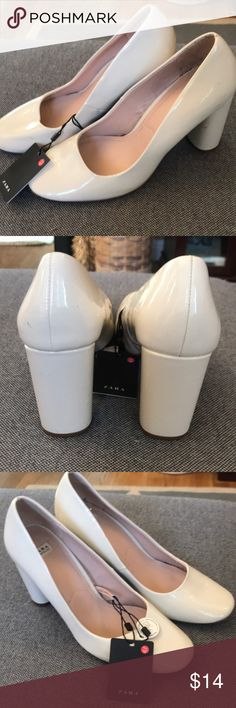 Zara cream color size 8! Super comfy and cheap! Zara cream color size 8! Super comfy and cheap! Zara Shoes Platforms