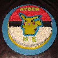 Pikachu 6th Birthday