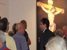Nel segno del Sacro: grosso successo per la mostra del Maestro Cesare Giuliani e di Giuliana Izzi