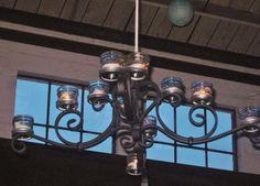 Unique chandelier.