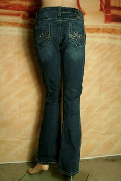 6b1315f8 Southern Thread The Tiernan Western Bootcut Dark Wash Stretch Jeans tag sz  27 R #SouthernThread