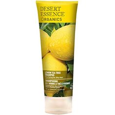 Desert Essence Shampoo For Oily Hair, Lemon Tea Tree, 8 Fl Oz, Multicolor Oily Hair Shampoo, Oily Scalp, Clarifying Shampoo, Moisturizing Shampoo, Greasy Hair, Organic Hair Care, Organic Shampoo, Natural Shampoo, Melaleuca