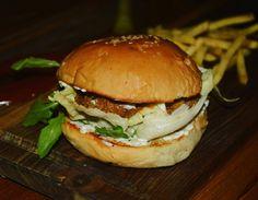 Lamb and cumin burger at The Burger Festival in Ci Gusta, Hyderabad
