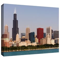 'Chicago' by Cody York Photographic Prints on Wrapped Canvas