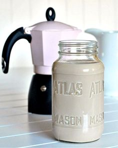 Homemade Baileys Irish Cream - a quick and easy VEGAN recipe for everyone's favorite - Irish Cream! perfect in a hot cup of coffee on a snowy morning...  @spabettie
