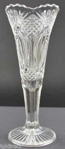 "MacBeth-Evans Glass Patterns   Macbeth-Evans Diamond Dart Stippled Black Opaque Glass Vase 8""Tall ..."