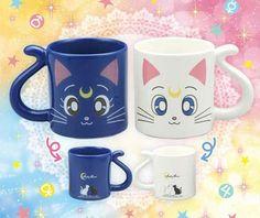 Luna and Artemis Pair Mug Cup **Preorder**