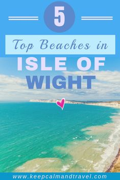 Check out the best beaches you can't miss in the beautiful Isle of Wight in the UK and suggestions for lovely cottages and accommodation! Beach Trip Packing, Isle Of Wight England, Cottages Uk, Ile De Wight, Beach Accommodation, Travel Advice, Travel Guides, Things To Do In London, Beaches In The World