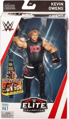 WWE Elite Wreslemania Kevin Owens United States Championship  Belt ship loose