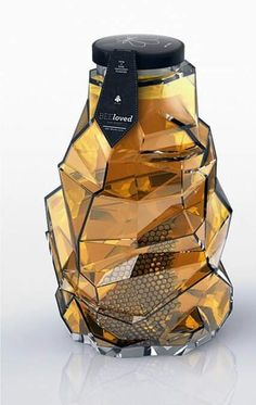 Awesome honey jar design. #greatdesign #greatproducts #creativestrategy