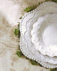 Artimino Fleur-de-Lis Cream Dinnerware Dillards Brooke here are The ...
