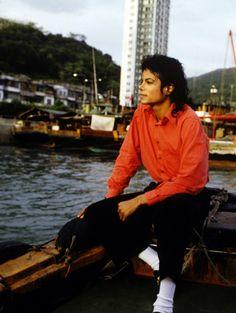 Michael in Hong Kong, 1987