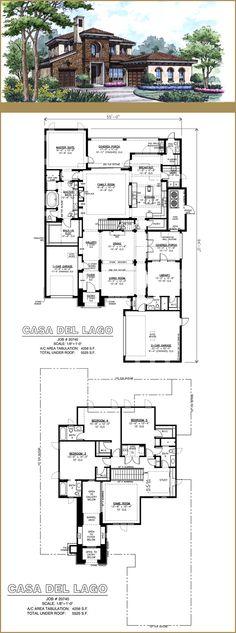 Plan 960007NCK Four Bedrooms and a Den Kominki, House i Projektowanie