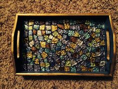 Hey, I found this really awesome Etsy listing at https://www.etsy.com/listing/216970156/mosaic-tile-decorative-traylarge-mosaic
