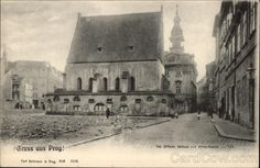 Gruss aus Prag! Synagogue ~ Prague, Czech Republic