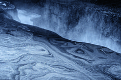 Dettifoss, Iceland @ Tom Jacobi . Photos of the World at Twilight, When Everything is a Hushed Grey | Atlas Obscura