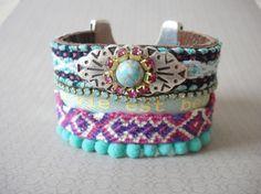 Friendship bracelet - Bohemian chic.