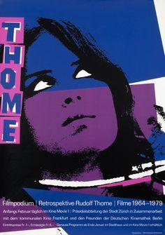 Thome - Filmpodium by Bruhwiler, Paul | Shop original vintage #posters online: www.internationalposter.com