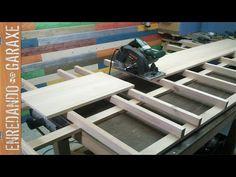 Mesa de corte de tablas y tableros