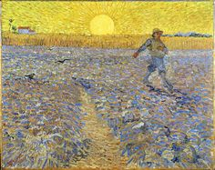Gogh, Vincent van - The sower - 1888