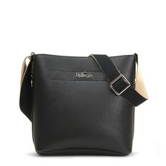 b16c13aa2428 Isla Vegan Leather Bucket Bag - Black