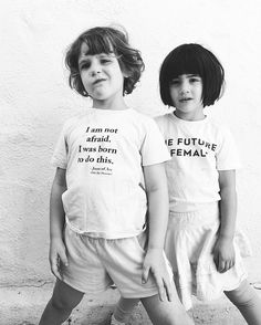 May our girls grow up KNOWING they are powerful. And may our boys grow up emboldened by that power -- never threatened -- there is no need to be threatened. Equality means more rights for others, not less rights for you...