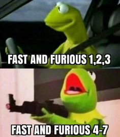 Fast And Furious - then and now.   funny pictures
