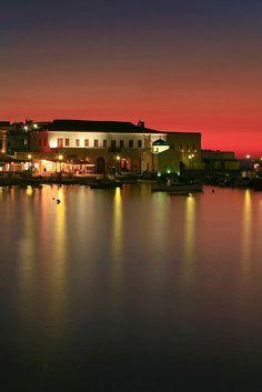 Mykonos at Night, Greece