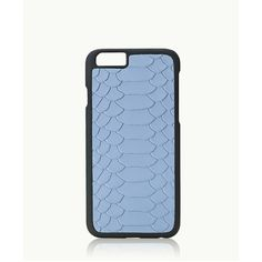 Gigi New York Iphone 6/6S Plus Hard-Shell Case In Hydrangea Embossed... ($36) ❤ liked on Polyvore featuring accessories, tech accessories, hydrangea embossed python and gigi new york