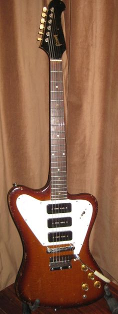 1965 Gibson Firebird, no surprise,had one of these too.