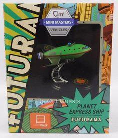 Loot Crate Exclusive Futurama Planet Express Ship Qm Mini Vehicles New Lootcrate