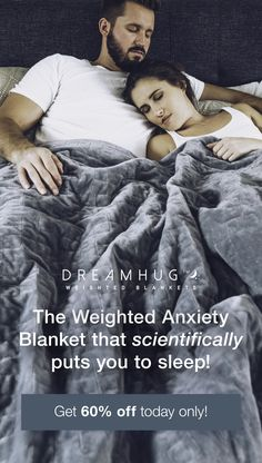 Better sleep with DeepTouch Tech The weighted blanket scientifically designed to improve your sleep and soothe away stress using deep touch technology Get 60 OFF with fre. Health And Wellness, Health And Beauty, Health Fitness, Weighted Blanket, Angst, Reduce Stress, My New Room, Stress And Anxiety, Health Remedies