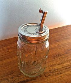Mason Jar oil dispenser for popcorn bar