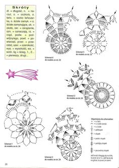 Crochet Leaves, Crochet Stars, Crochet Motifs, Crochet Snowflakes, Crochet Cross, Crochet Doilies, Crochet Flowers, Crochet Christmas Decorations, Crochet Ornaments