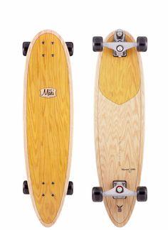 Maki Longboards | Narwhal Surf Skate Board Model