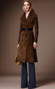 Burberry Pre Fall 2016 Look 4 on Moda Operandi