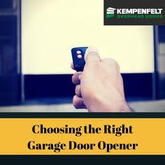 How carriages in garage door openers work garage doors for How to choose a garage door opener