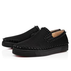 Shoes - Pik Boat Men's Flat - Christian Louboutin