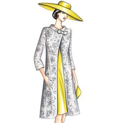 Marfy Overcoat Marfy Patterns, Vogue Sewing Patterns, Mccalls Sewing Patterns, Kate Wedding Dress, Italian Pattern, Vintage Patterns, Pretty Dresses, Fashion Art, Style Inspiration