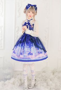 Angel's Heart -Castle of Fantasy- Lolita Jumper Dress - My Lolita Dress