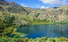 Lake Kournas on Crete Heraklion, Travel Information, Greece Travel, Online Courses, Santorini, In This Moment, River, Island, Vacation