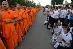 Cambodian monk with ties to opposition party found beaten to death.