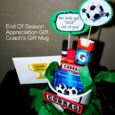 A Coachu0027s Appreciation Gift Soccer Snacks Sports Snacks Soccer Coach Gifts Sports Gifts & 24 Best soccer coach gifts images | Football soccer Soccer coach ...