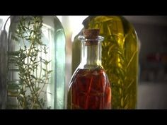 How to Make Herb Infused Oils and Vinegar
