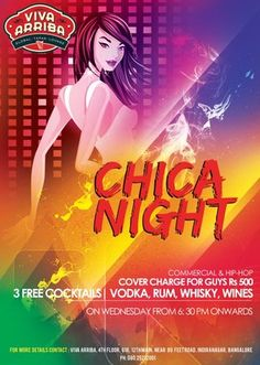 Mid-Week Entertainment: Chica Night + Karaoke Madness , Viva Arriba, Bangalore