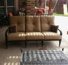 Mallin Westfield Sofa Enjoy Your Outdoor Room   Yard Art Patio U0026 Fireplace