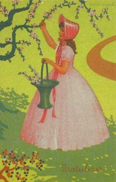 Gratulasjonskort Erling Nielsen 1940-tallet Norsk arbeide
